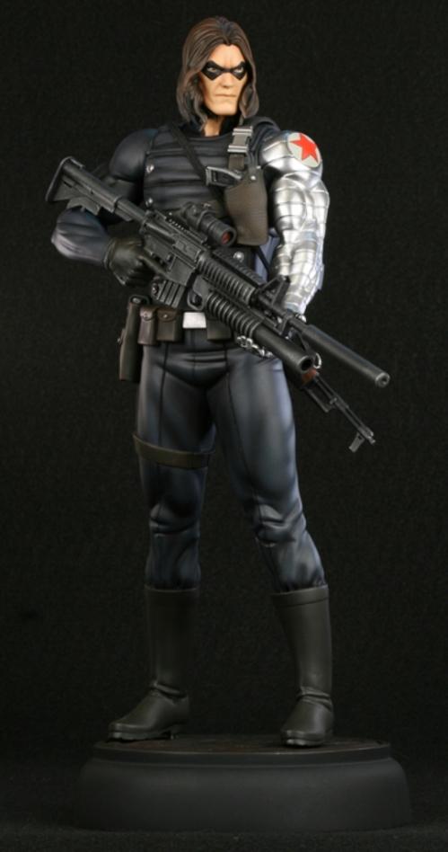 "Bucky Barnes: ""The Winter Soldier"" (W.I.P.) Bowintersoldier"